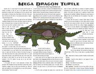 RPG Item: Mega Dragon Turtle