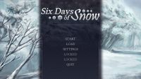 Video Game: Six Days of Snow