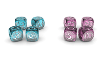 Board Game Accessory: Krosmaster: Arena – Upgraded Dice