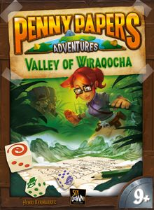 Penny Papers Adventures: The Valley of Wiraqocha Cover Artwork