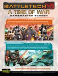 RPG Item: A Time of War GM Screen