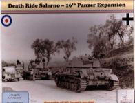 Board Game: Death Ride Salerno: 16th Panzer Expansion