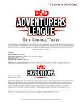 RPG Item: DDEX1-06: The Scroll Thief