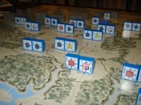 Session 1, situation 1: View of Union Defenses