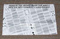 Board Game: Spy vs. Spy Combat Card Game