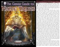 RPG Item: The Genius Guide to: Name Traits