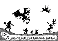 RPG Item: B/X Monster Reference Index