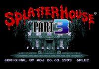 Video Game: Splatterhouse 3