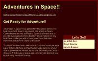 RPG Item: Adventures in Space!!