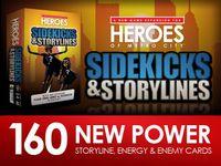 Board Game: Heroes of Metro City: Sidekicks and Storylines