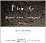 RPG Item: P'tor-Ra: Return of the Lizard Gods
