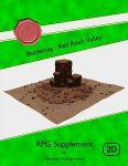 RPG Item: Battlemap: Red Rock Valley