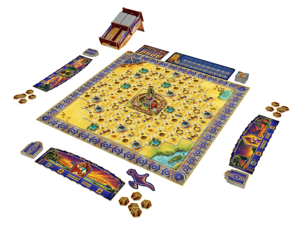 Tiles of the Arabian Nights