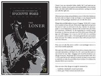 RPG Item: A Gunlugger Supplement for Apocalypse World: The Loner