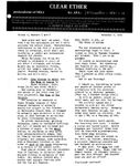 Issue: Clear Ether! (Vol 1, No 6 - Nov 1974)