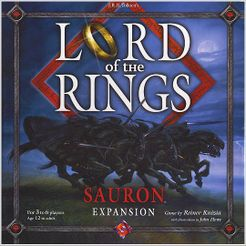 Lord of the Rings: Sauron Cover Artwork