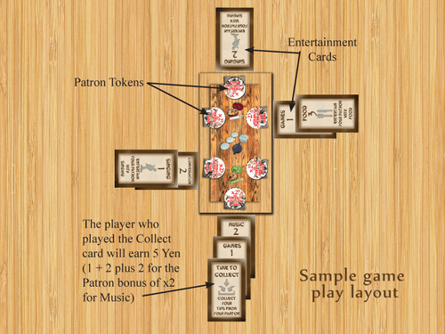 Board Game: Tea House of the Blue Moon