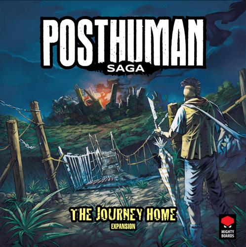 Board Game: Posthuman Saga: The Journey Home Expansion