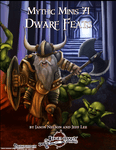 RPG Item: Mythic Minis 071: Dwarf Feats