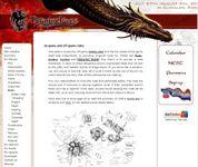 RPG Item: Dragonbane Rules and Information Website