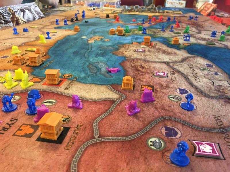 Mare Nostrum: Empires (Kickstarter Edition); 5p eventual Egypt victory