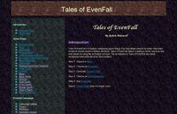 RPG Item: Tales of EvenFall