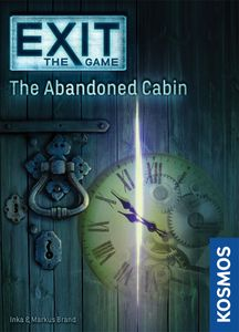 Exit: The Game – The Abandoned Cabin Cover Artwork