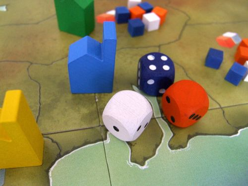 Board Game: Tinners' Trail
