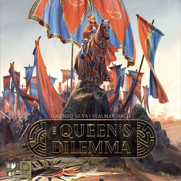 The Queen's Dilemma cover (WIP)