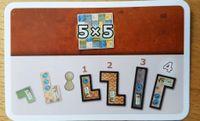 Board Game: Patchwork: 5x5 Bonuskarte