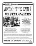 RPG Item: GURPS After the End 1: Wastelanders