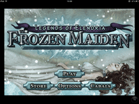 Video Game: Legends of Elendria: The Frozen Maiden