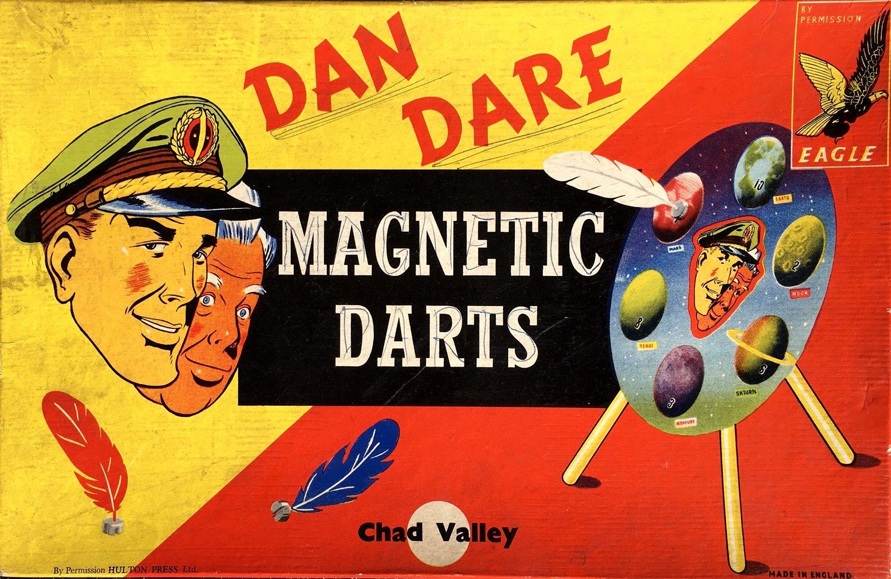 Dan Dare Magnetic Darts