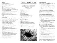 RPG Item: The Goblin Hole