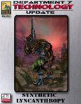 RPG Item: Synthetic Lycanthropy