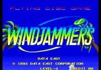 Video Game: Windjammers