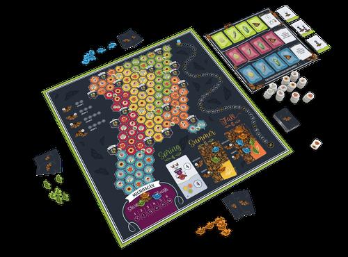 Board Game: Mariposas