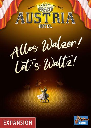 Board Game: Grand Austria Hotel: Let's Waltz!