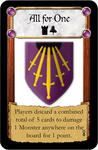 Board Game: Castle Panic: All For One Promo Card