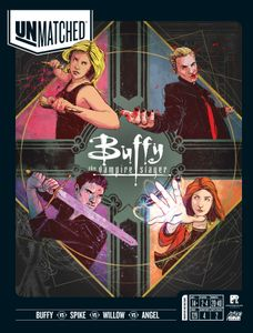 Unmatched: Buffy the Vampire Slayer Cover Artwork