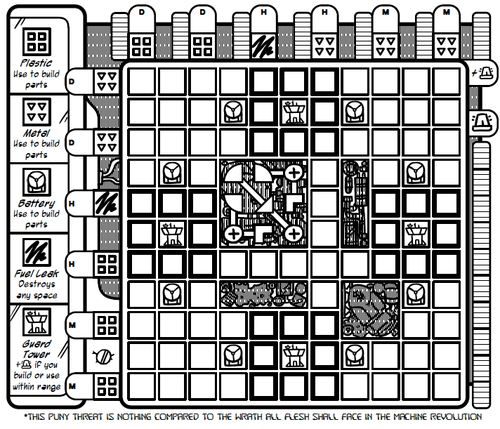 Board Game: Tempus Quest: Episode 0 – Some Re-Assembly Required
