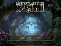 Video Game: Mystery Case Files: 13th Skull