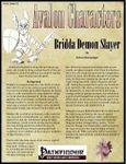 RPG Item: Avalon Characters Vol. 1, Issue #02: Bridda Demon Slayer