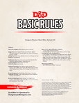 RPG Item: Dungeon Master's Basic Rules