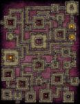RPG Item: VTT Map Set 116: The Vault of Osiris