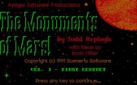 Video Game: Monuments of Mars