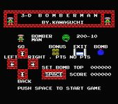 Video Game: 3-D Bomberman