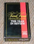 Board Game: Trivial Pursuit: The Year in Review – Questions about 1992