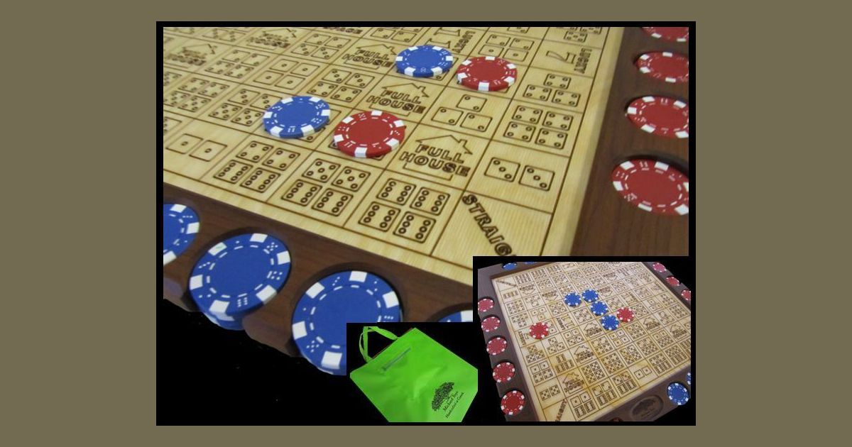 Dice Poker Board Game Boardgamegeek