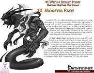RPG Item: Bullet Points: 10 Monster Feats